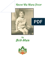 We Didn't Know We Were Poor - Bob Shea
