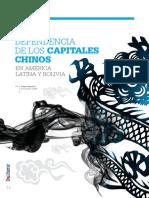 Dependencia de Los Capitales Chinos