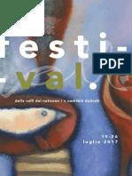 20170713 Opuscolo Festival Teatro Di Figura Valli Del Natisone