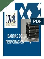 MBI Drilling - Presentación Barras de Perforación y Casing