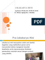 Pre Lokakarya Mini Ranca Wedus