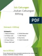 Analisis Cekungan Kelompok 4 (Rifting)