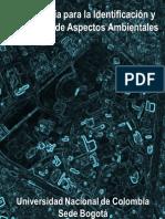 Aspectos Ambientales Evaluacion Identificacion Metodologia
