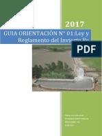 Guia N° 01 de Orientacion Ley y Reglamento Invierte.Pe
