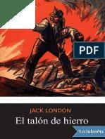 El talon de hierro - Jack London.pdf