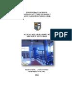 Manual de Laboratorio Mecanica de Fluidos