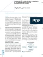 Etiology and Pathophysiology of Insomnia