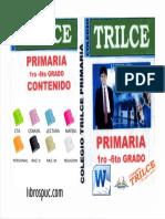 portada caratula TRILCE PRIMARIA 2018