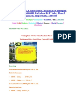 Book DLF Valley Phase-2 Panchkula Chandigarh@9216886888