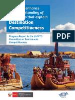Factores de Competitividad en El Destino
