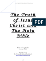 The Truth of Jesus Christ and the Holy Bible