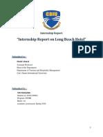 Internship Report Demo