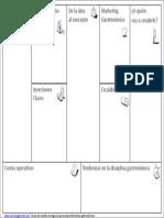 Lienzo Modelo de Negocios Gastronomia (1)