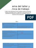 1-Programa Del Taller y Dinámica de Trabajo