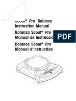 Manual Scout Pro SP 602