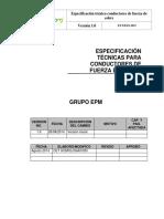 ET Cables de Fuerza de Cobre- Grupo EPM 10 Feb 2015