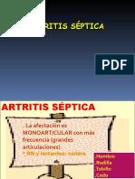Artritis Septica Plus Medica