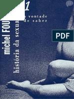 História da Sexualidade 01- A Vontade de Saber- Michel Foucault.pdf