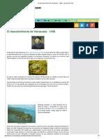 El Descubrimiento de Venezuela - 1498 - Venezuela Tuya