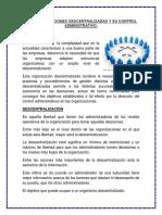 Las Organizaciones Descentralizadas y Su Control Administrativoddd (1)