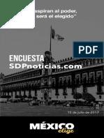 México elige y SDP Noticias - 10 julio 2017