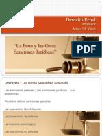 La Pena y Las Otras Sanciones Jurídicas