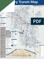 Calgary Transit Map
