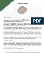 Sinterización (1)