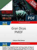 Elias Santana Gran Dicas PMDF