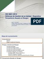 ISO 9001_2015. Sistemas de gestión de la Calidad-Requisitos. Pensamiento basado en Riesgos
