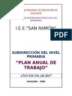 Pat San Ramon 2017 Primaria