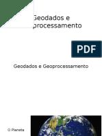 Geodados e Geoprocessamento