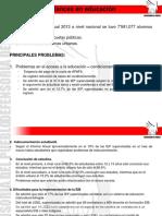 El Derecho a La Eduacción Seún El Inform Defensorial 2013