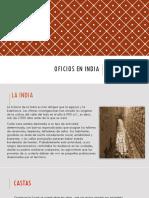 Oficios en India.presentacion3