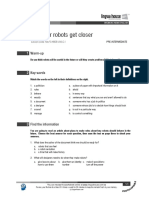 Rules for robots get closer (Pre-intermediate).pdf