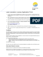 GaBi Education License Application Form