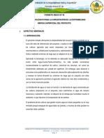 Estudi Hidrologico Canal de Riego Huamuco