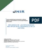 Influencia de Las Inteligencias Multiples en El Desarrollo de La Lectura