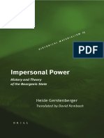 Heide Gerstenberger - Impersonal Power - History and Theory of the Bourgeois State