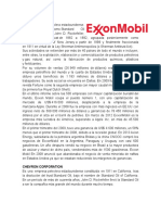 Empresas en El Ramo Petrolero