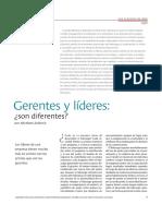 Gerentes y lideres, Son diferentes.pdf
