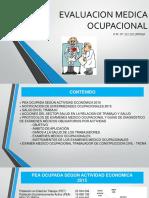Evaluacion Medica Ocupacional