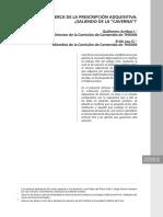 Acerca de La Prescripcion Adquisitiva de Dominio, Saliendo de Las Cavernas 9063-35922-1-PB