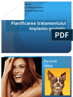 CURS 5 Planificare Tratament Implanto-protetic Studenti