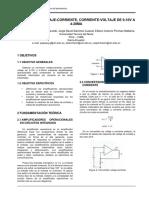 Circuito voltaje-corriente corriente-voltaje