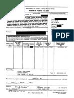 Federal Tax Lien against Floyd Mayweather Jr. for 2015 -- $22.2M