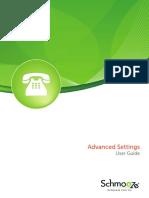 Advanced Settings Module Userguide