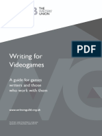 Writing for Videogames