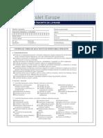 PDI Inspection Sheet RO