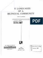 The Languages of a Bilingual Community